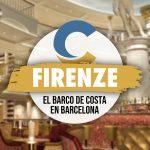 El Costa Firenze Atraca En Barcelona